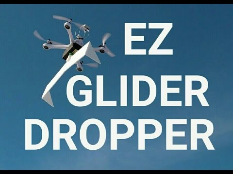 Dropping a Glider from a Drone!