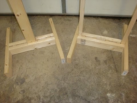 Homemade Target Stands