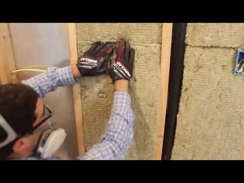 How to Insulate Walls with Rockwool – by Home Repair Tutor