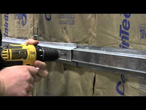 Installation of the Green Glue Noiseproofing Clip - CertainTeed Gypsum