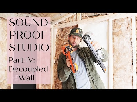 Sound Proof Shed IV - Decoupled Walls