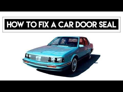 How To Fix A Car Door Seal