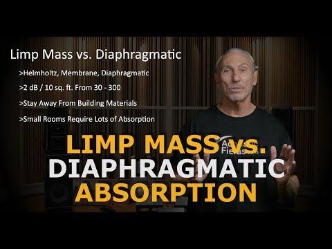 Limp Mass vs. Diaphragmatic Absorption - www.AcousticFields.com