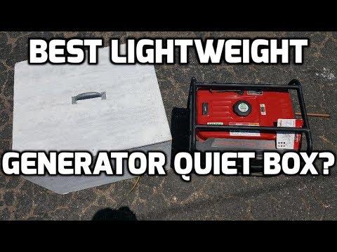 Best Lightweight Generator Quiet Box Part 1 - DIY