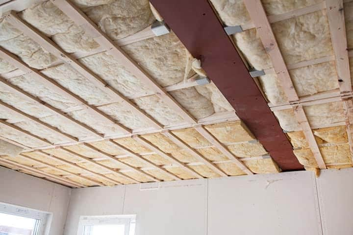 soundproof insulation ceiling