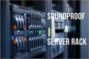 diy soundproof server rack