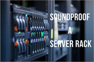 diy soundproof server rack