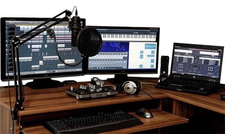 recording studio computer