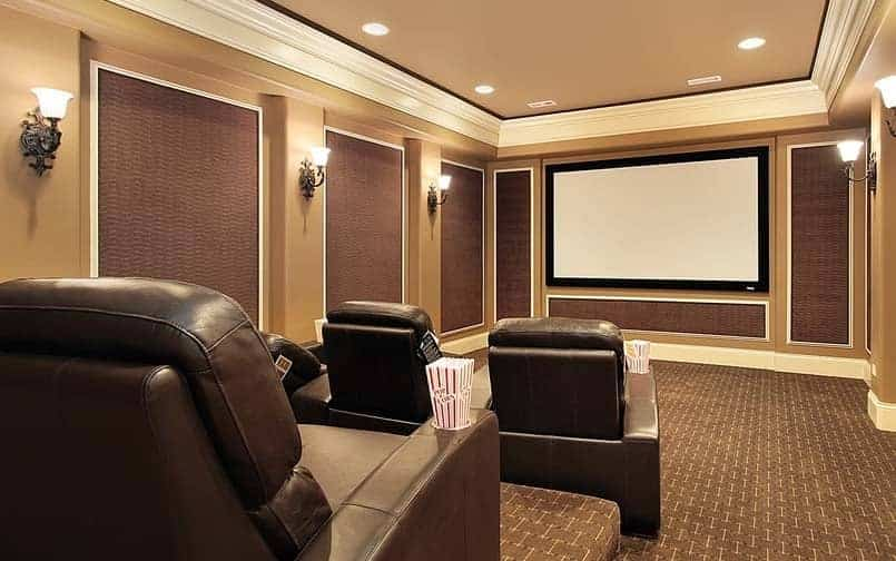 soundproof wall home theater