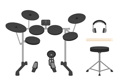 soundproof electric drums