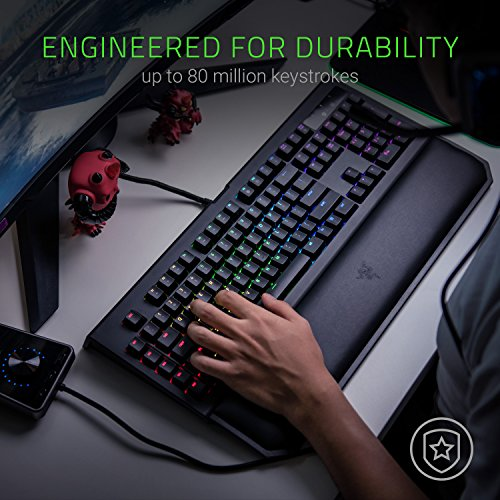 Razer BlackWidow Chroma V2 silent keyboard