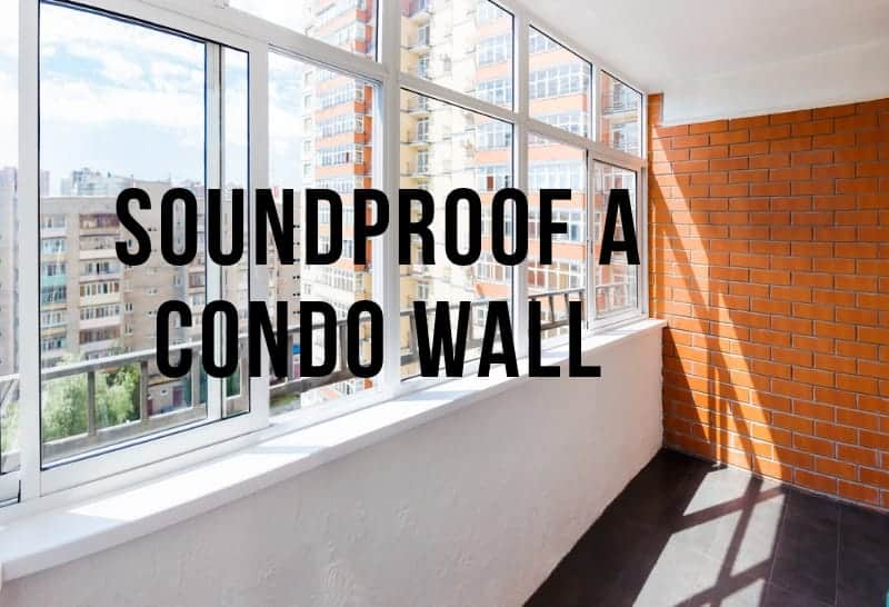 soundproofing common condo walls