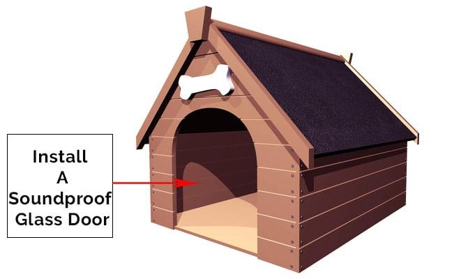 soundproof door dog crate