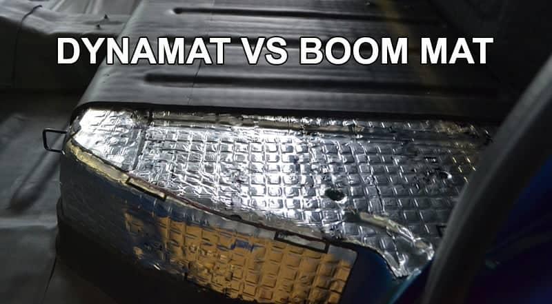 Dynamat Vs Boom Mat