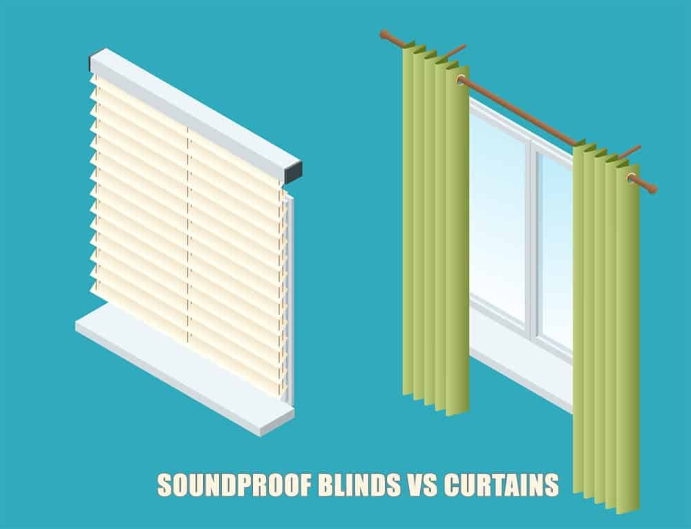 Soundproof Curtains vs Blinds