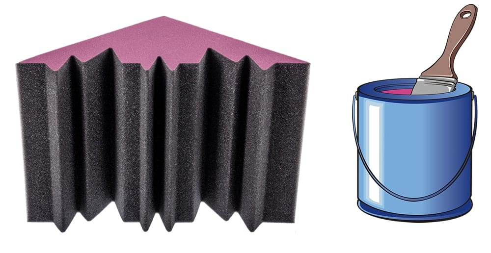 Can You Paint Soundproofing Foam