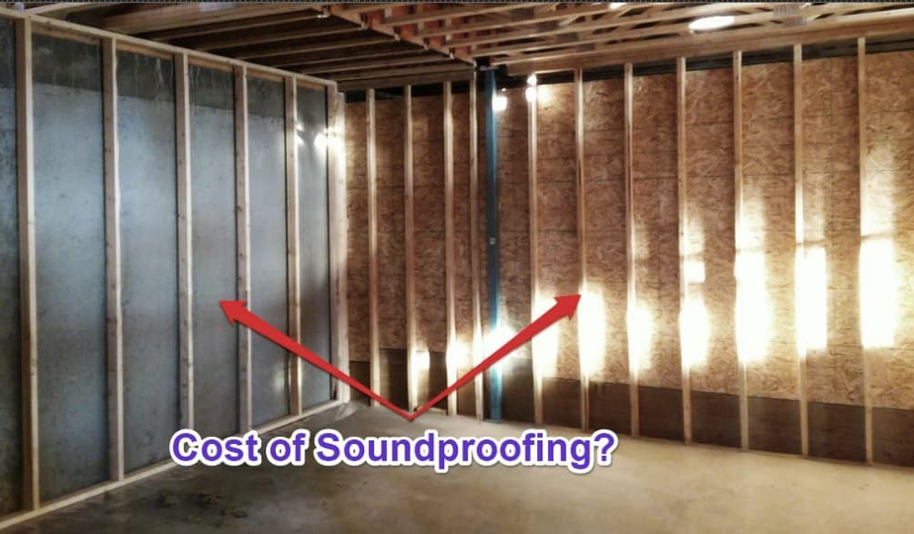 Cost to Soundproof a Wall