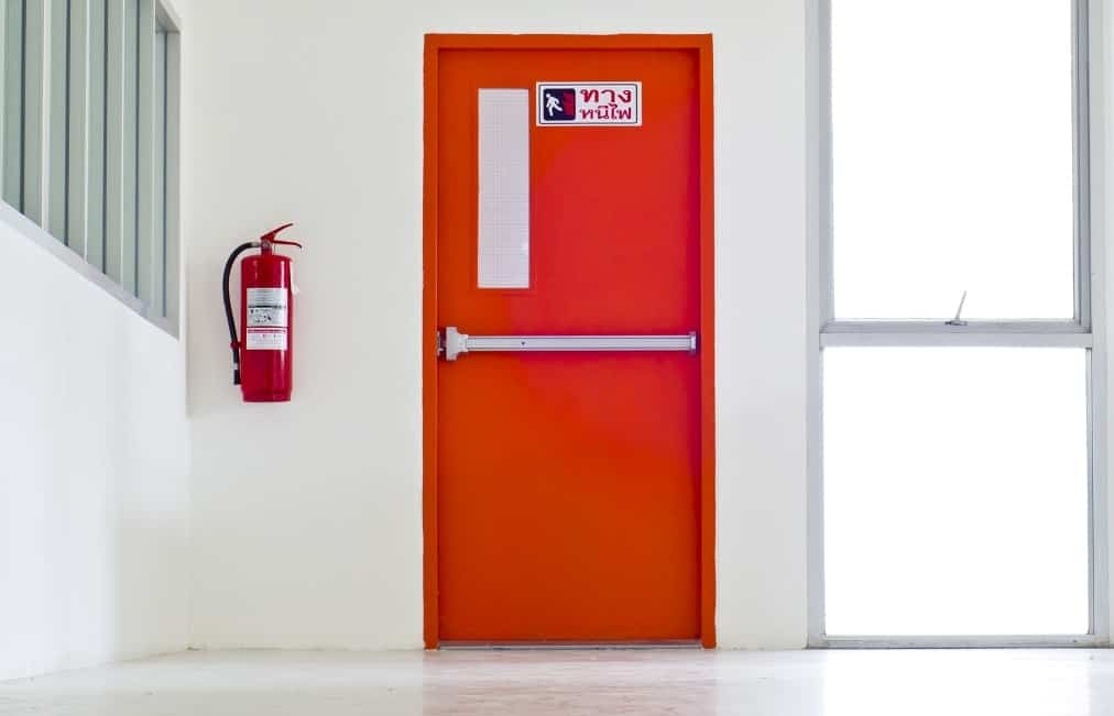 Are fire doors more soundproof