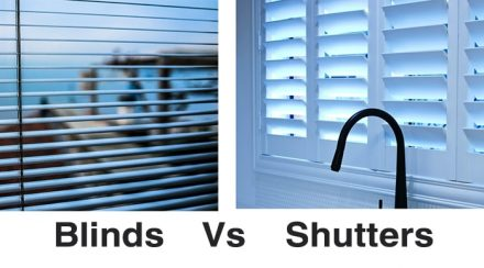 Noise Reducing Blinds or Shutters