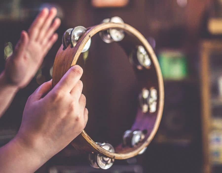 Muffle a Tambourine