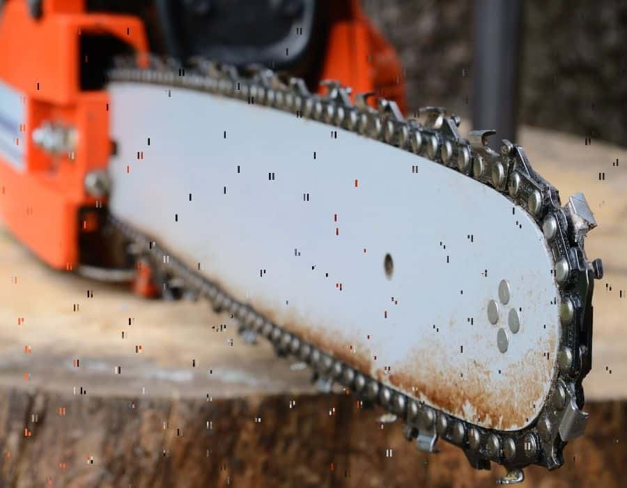 right Chainsaw