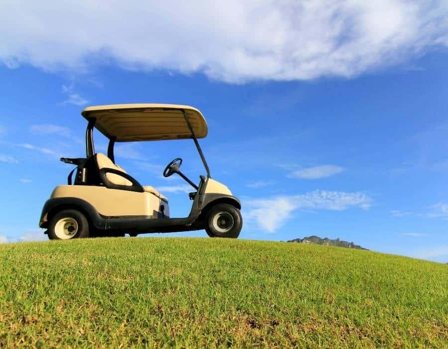 Make a Gas Golf Cart Quieter