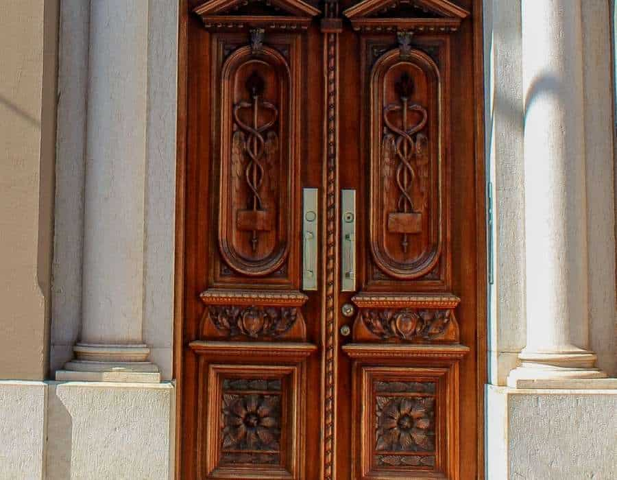 Solid core doors