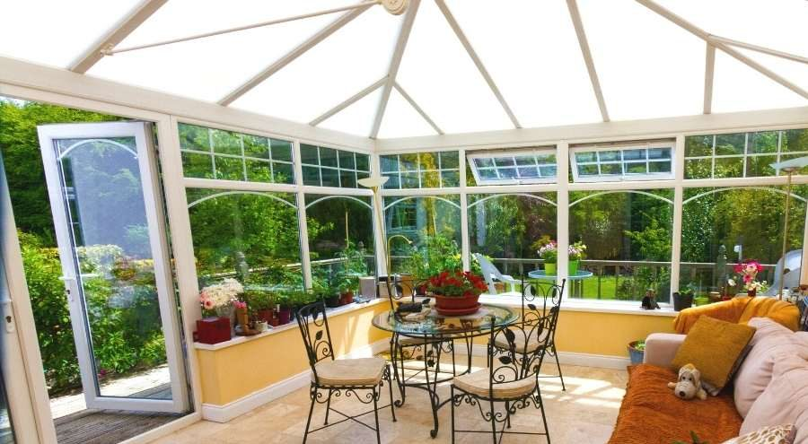 Build a shed or sunroom