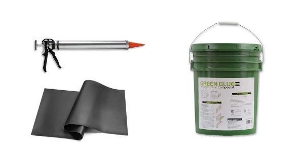 Green Glue vs. MLV