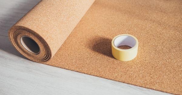 Main floor material