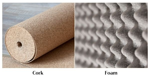 Cork vs. Foam for Soundproofing