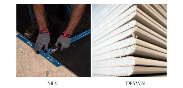 MLV vs. Drywall for Soundproofing