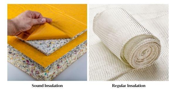 Sound Insulation vs. Regular Insulation