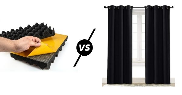 Soundproof Curtains vs. Panels