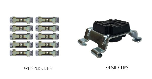 Whisper Clips vs. Genie Clips