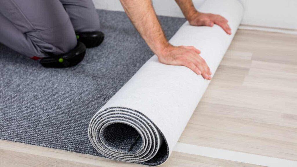 does carpet absorb sound