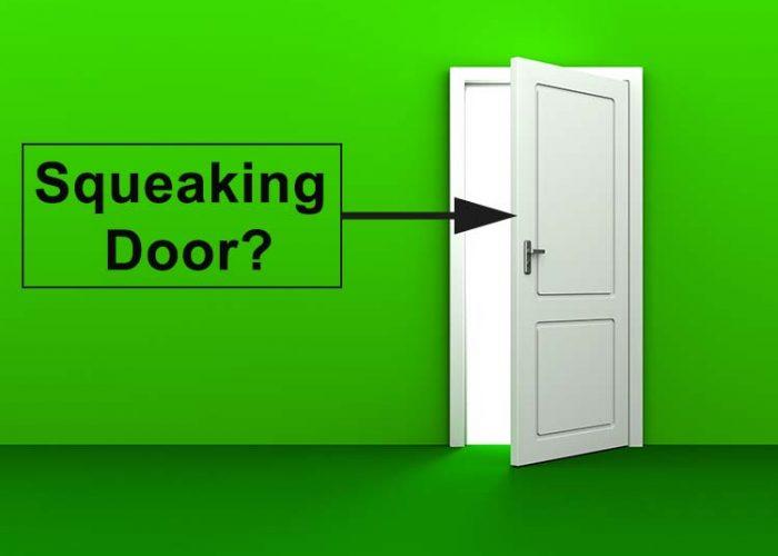 How to Stop a Door from Squeaking
