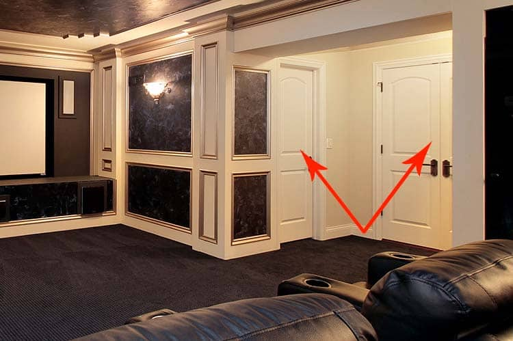 How To Soundproof Your Home Theater Doors